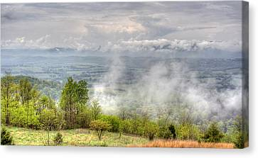 Dunlap Valley Canvas Print by David Troxel