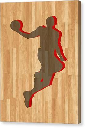 Dwight Howard Houston Rockets Canvas Print by Joe Hamilton