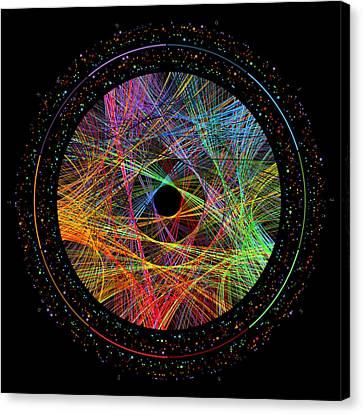 e Transition Paths Canvas Print by Martin Krzywinski