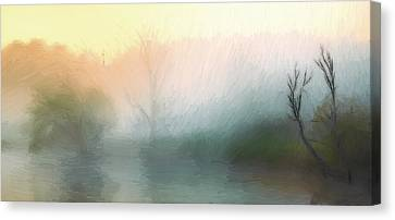 Early In The Morning Canvas Print by Steve K