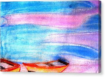 Early Morning Canvas Print by Duygu Kivanc