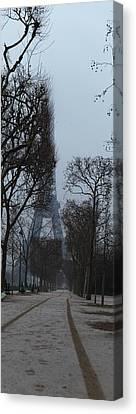 Eiffel Tower - Paris France - 011312 Canvas Print by DC Photographer