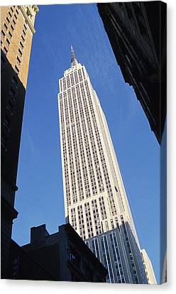 Empire State Building Canvas Print by Jon Neidert