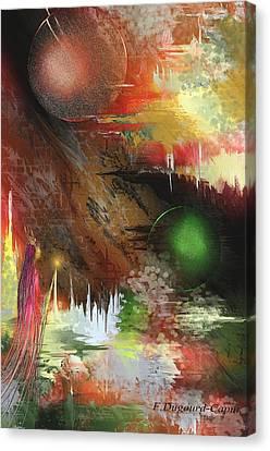Esperance Canvas Print by Francoise Dugourd-Caput