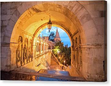 Europe, Hungary, Budapest, Buda Canvas Print by Jim Engelbrecht