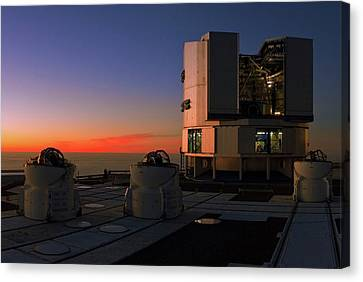 Evening Twilight Over The Atacama Desert Canvas Print by Babak Tafreshi