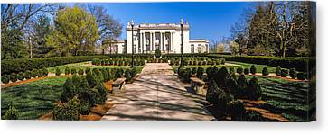 Facade Of The Kentucky Governors Canvas Print by Panoramic Images