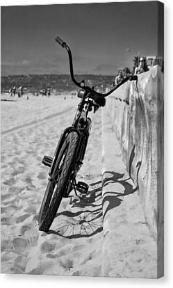Fat Tire Canvas Print by Peter Tellone