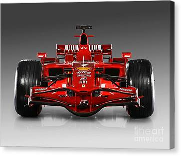 Ferrari F1 Canvas Print by Marvin Blaine