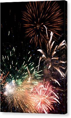 Fireworks Canvas Print by Gaurav Singh
