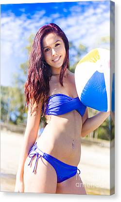 Fit Active And Healthy Lifestyle Canvas Print by Jorgo Photography - Wall Art Gallery