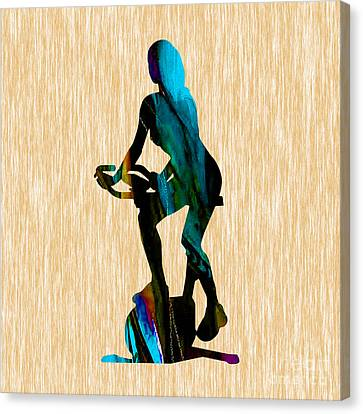 Fitness Canvas Print by Marvin Blaine