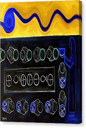 Five Loaves And Two Fish 2 Canvas Print by Patrick J Murphy
