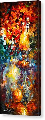 Flame Canvas Print by Leonid Afremov