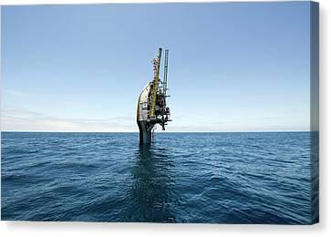 Floating Instrument Platform (flip) Canvas Print by Us Air Force/john F. Williams
