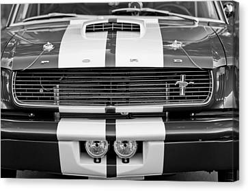 Ford Mustang Grille Emblem Canvas Print by Jill Reger