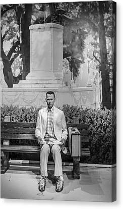 Forrest Gump Canvas Print by Mountain Dreams