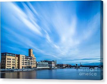 Fox River  Canvas Print by Andrew Slater