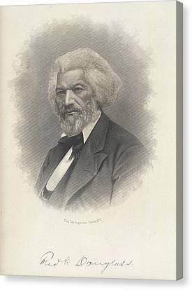 Frederick Douglass Canvas Print by British Library