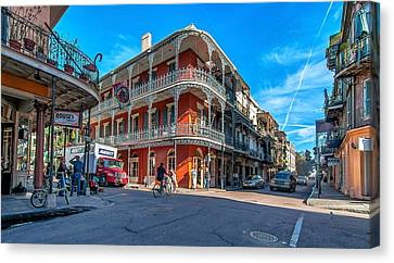 French Quarter Afternoon Canvas Print by Steve Harrington