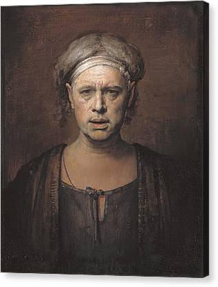 Frontal Canvas Print by Odd Nerdrum
