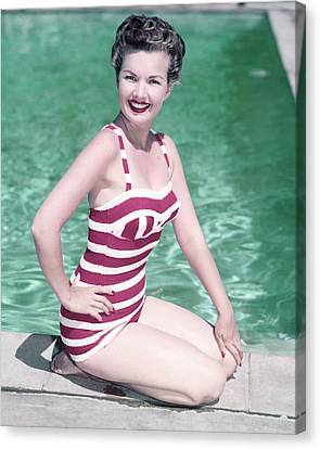 Gale Storm Canvas Print by Silver Screen