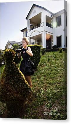 Garden Maid Canvas Print by Jorgo Photography - Wall Art Gallery