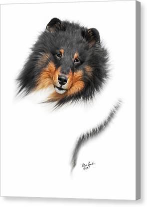 Gch Weathermans Syringa Free Spirit Canvas Print by Chris Lynch