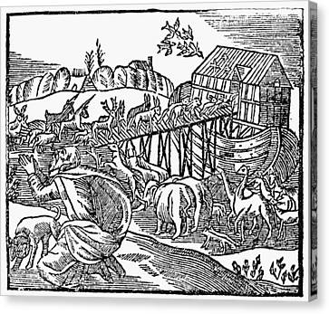 Genesis Noah's Ark Canvas Print by Granger