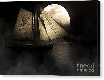 Ghost Ship Canvas Print by Jorgo Photography - Wall Art Gallery