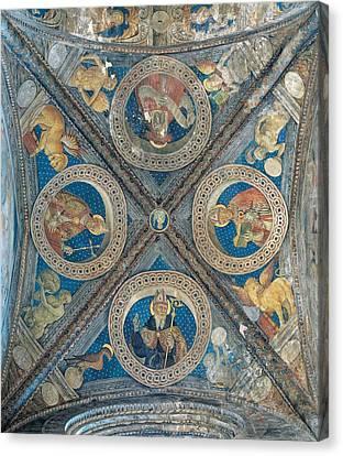 Giovan Pietro Da Cemmo, St Ambrose, St Canvas Print by Everett