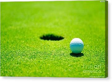 Golf Canvas Print by Marvin Blaine