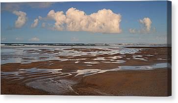 Gowlane Beach Canvas Print by Barbara Walsh