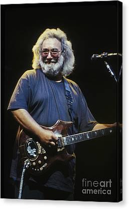 Grateful Dead - Uncle Jerry Canvas Print by Front Row  Photographs