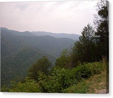 Great Smokey Mountain Canvas Print by Celestial Images