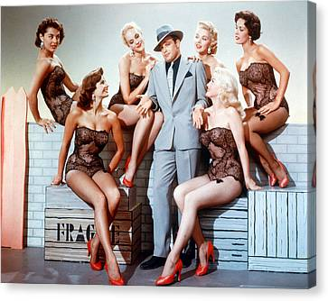 Guys And Dolls  Canvas Print by Silver Screen
