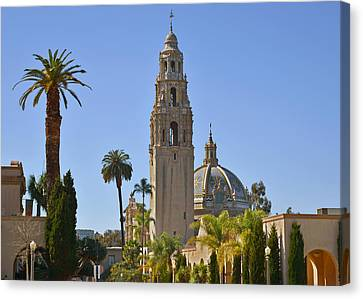 Balboa Park - The Soul Of San Diego Canvas Print by Christine Till