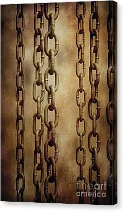 Hanged Chains Canvas Print by Carlos Caetano