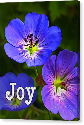 Happy Face - Joy Canvas Print by Bill Caldwell -        ABeautifulSky Photography