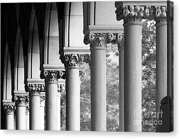 Memorial Hall At Harvard University Canvas Print by University Icons