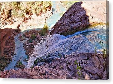 Havasu Falls  Canvas Print by Stellina Giannitsi