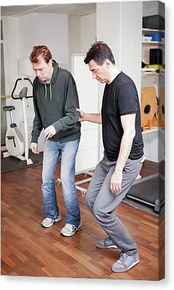 Hemiplegic Stroke Physiotherapy Canvas Print by Thomas Fredberg