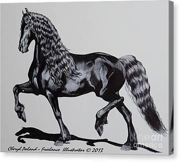 Hendricka Canvas Print by Cheryl Poland