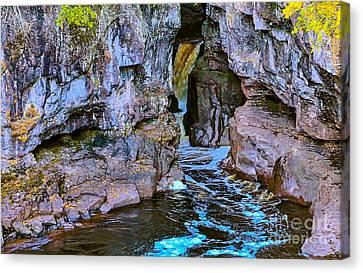 Hidden Falls Canvas Print by Bryan Benson