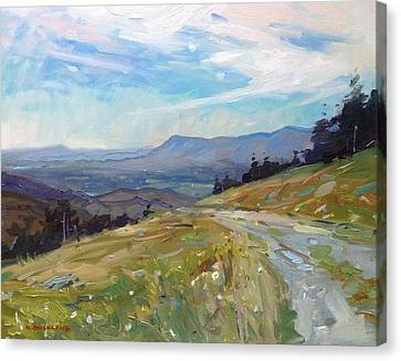 Highland Valley View  Canvas Print by Kyle Buckland