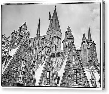 Postcard From Hogsmeade Canvas Print by Edward Fielding