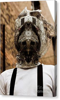 Horror News Head Lines Canvas Print by Jorgo Photography - Wall Art Gallery