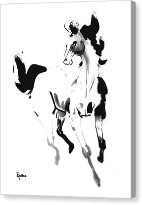 Horse 1 Canvas Print by Skip Roma
