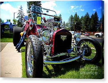 Hot Rod Canvas Print by Cheryl Young