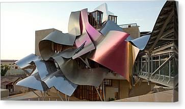 Hotel Marques De Riscal, Elciego, La Canvas Print by Panoramic Images